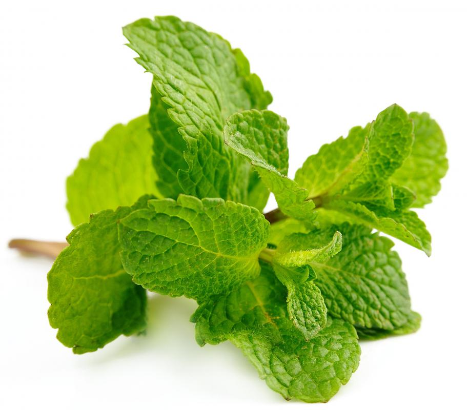 Mint is a common ingredient found in aqua fresca.