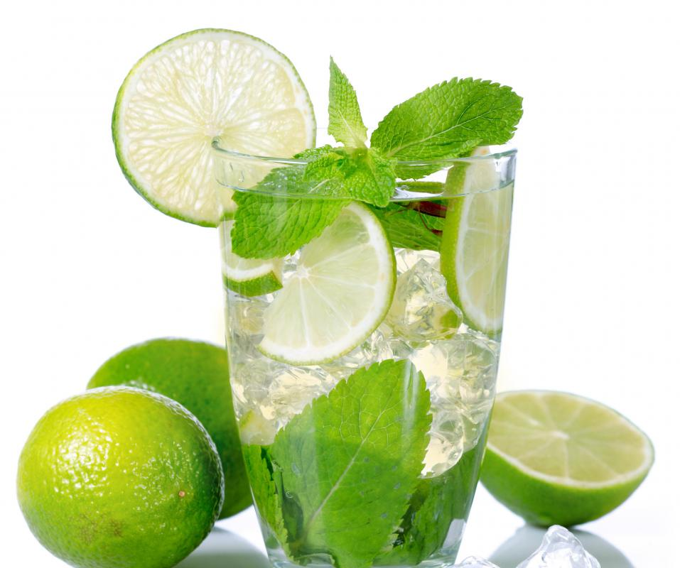 Tart lime juice can be added to lemonade for a more intense citrus flavor.