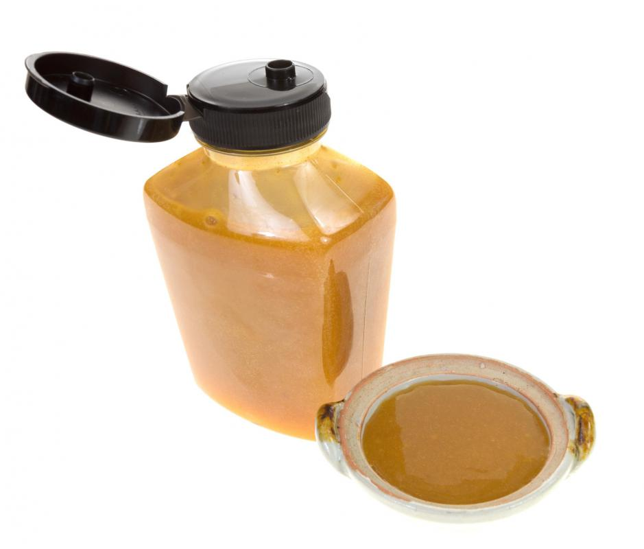 Prepared honey mustard is available in stores.