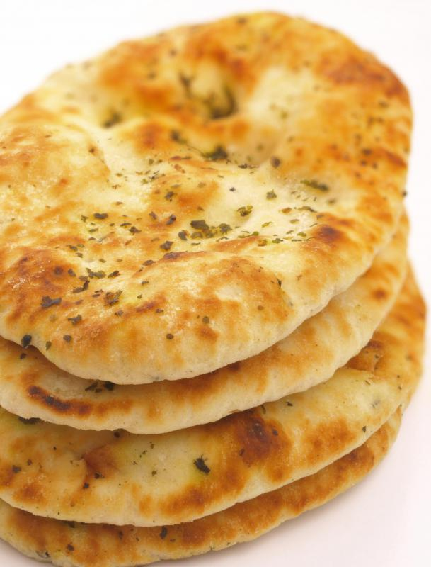 Naan is a particularly well-known Indian bread.