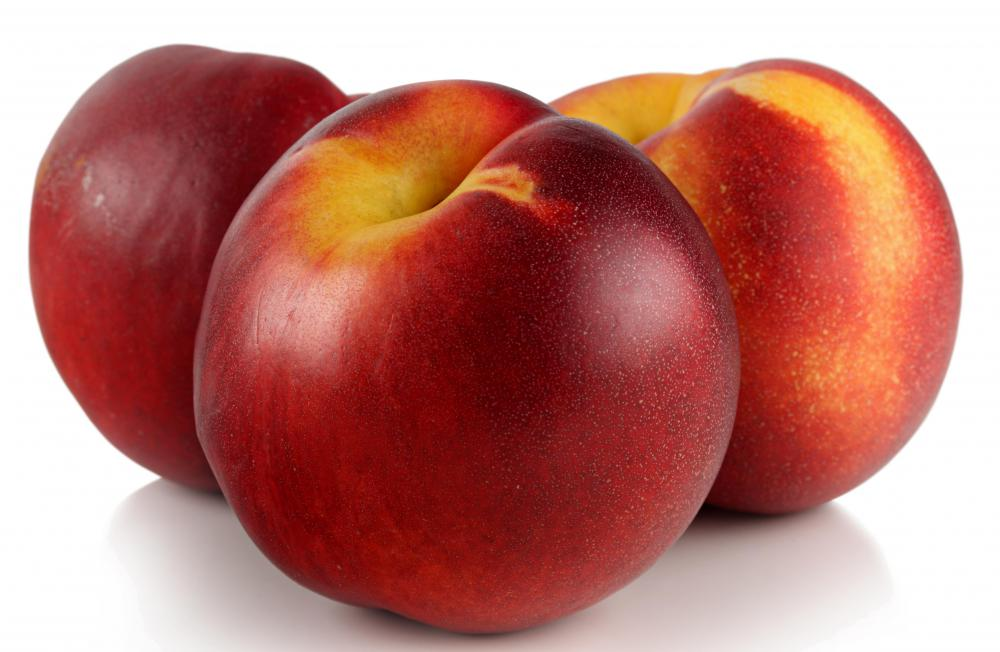 Nectarines have a smooth outer skin.