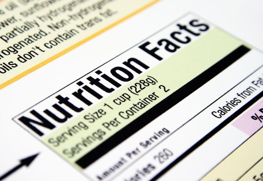 All packaged foods include a nutrition label, which displays important nutrition facts, servings and stats.
