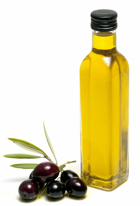 Oil-cured olives are soaked in olive oil.