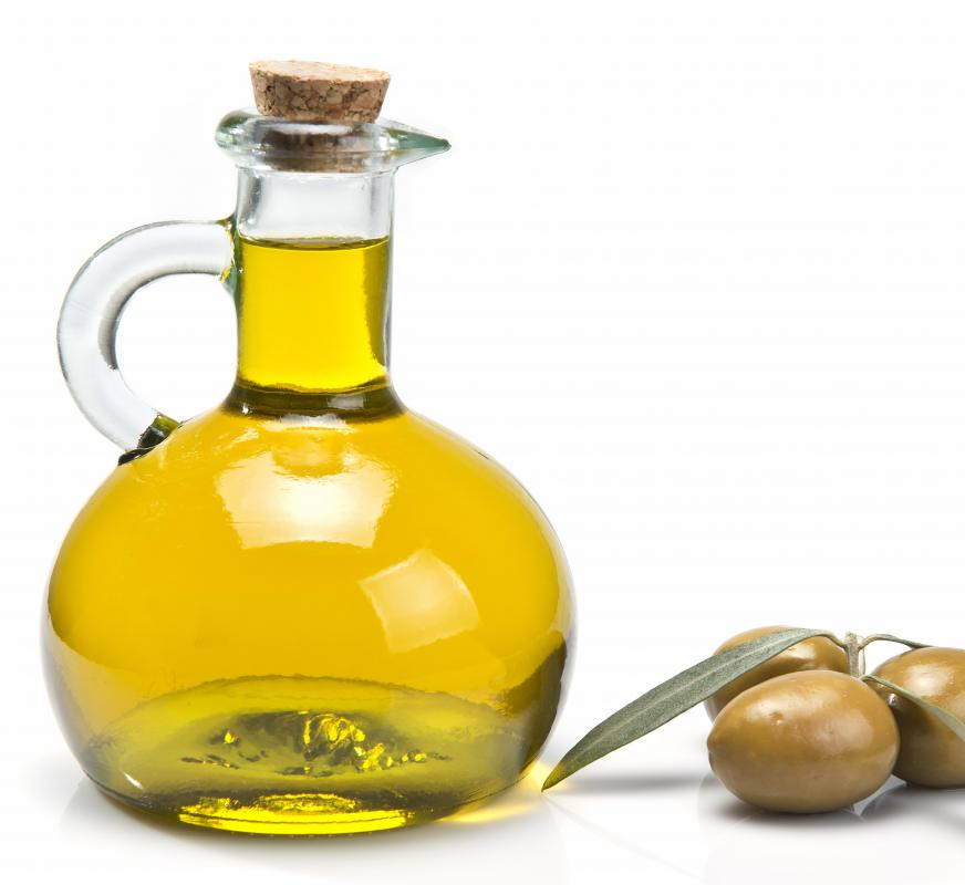 Refrigerate oils with high polyunsaturated fat content, such as olive oil.