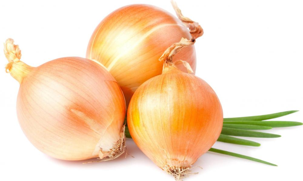 Onions, which are used in making guacamole.