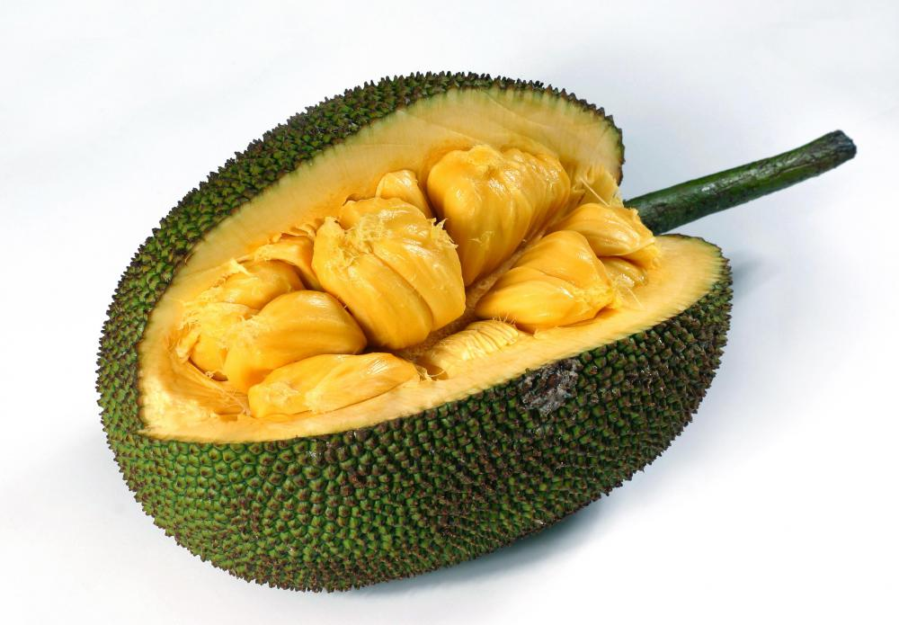Jackfruit is a lesser-known tropical fruit.