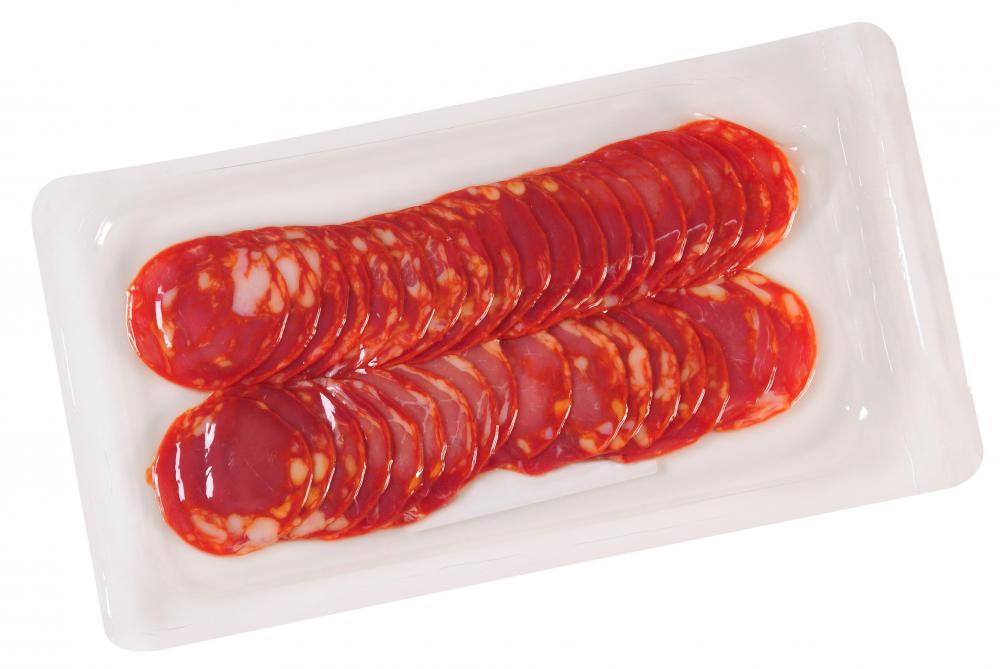Pepperoni may be featured on canape.