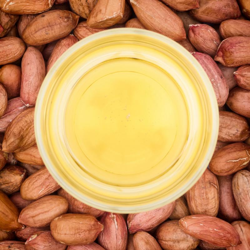 Peanut and certain other vegetable oils should be tossed six months after opening.