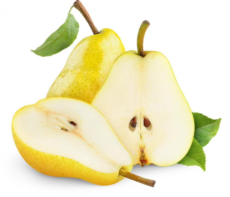 Soft pears tend to clog juicers, so it's best to use hard pears when making pear juice.