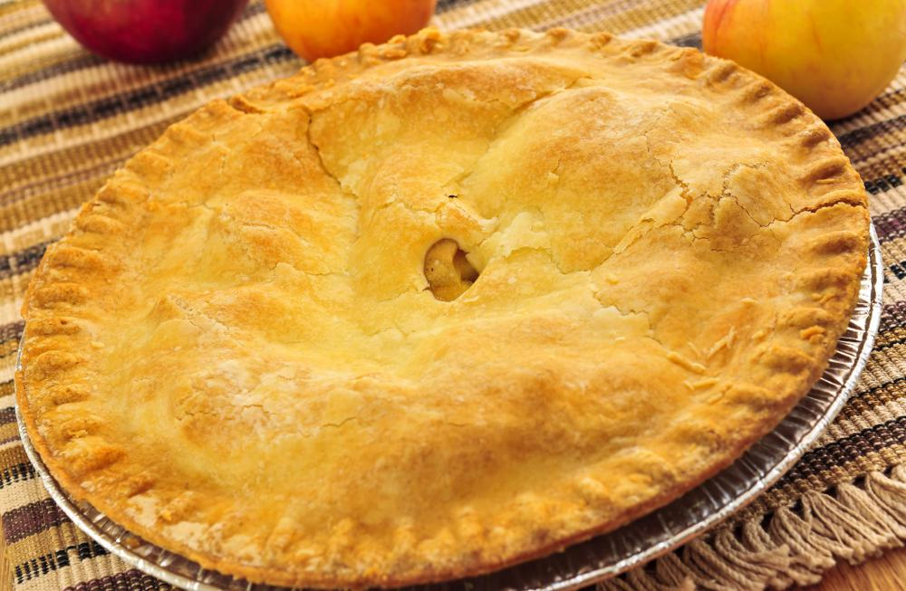 Lard is popular in pie and other pastries because it yields a light, flaky crust.
