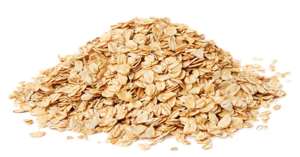 Whole grain oats.