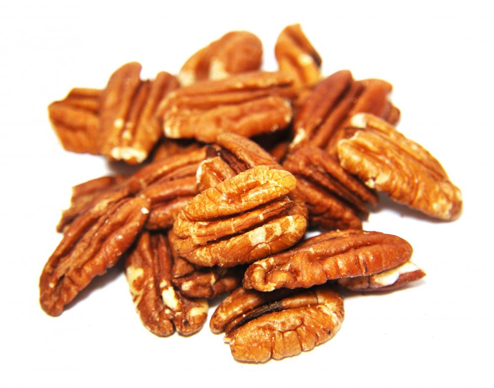Pecans are used in Lane cake.
