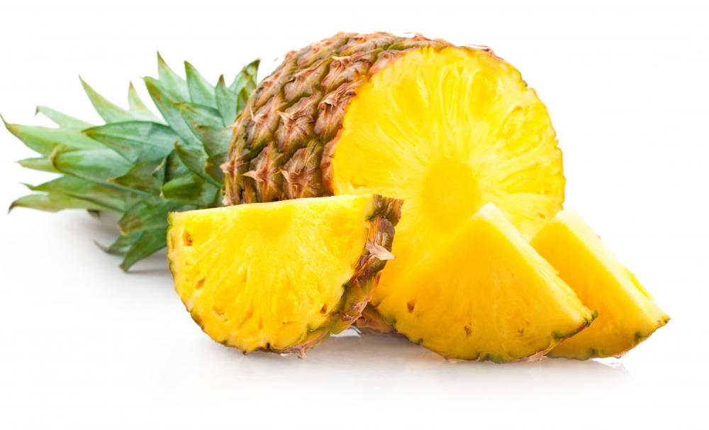 Pineapple can be used as a sweet topping for pizza.