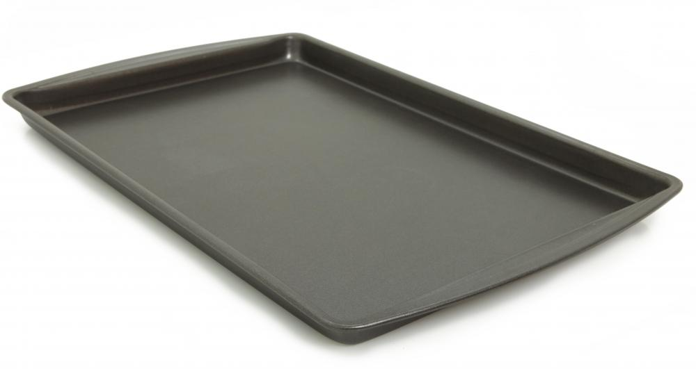 In some cases, it's possible to use a traditional baking sheet as a drip pan.