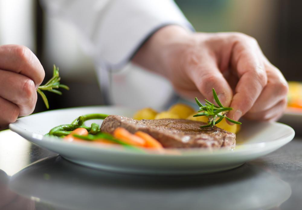 Chefs usually prepare special menus for diners who reserve the kitchen table.