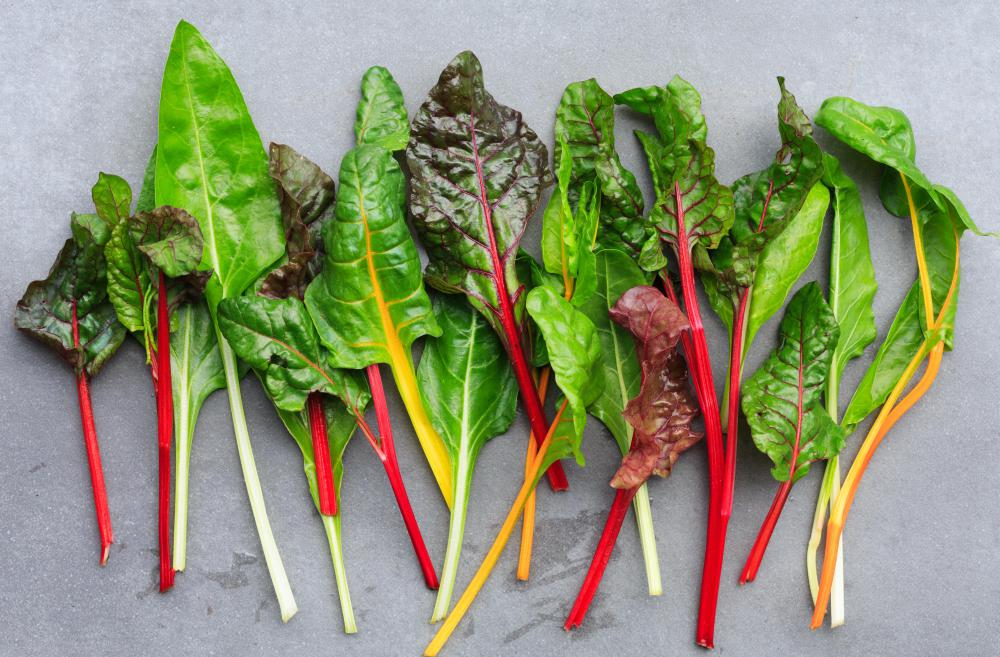 Swiss chard is a vegetable that holds up well when frozen.