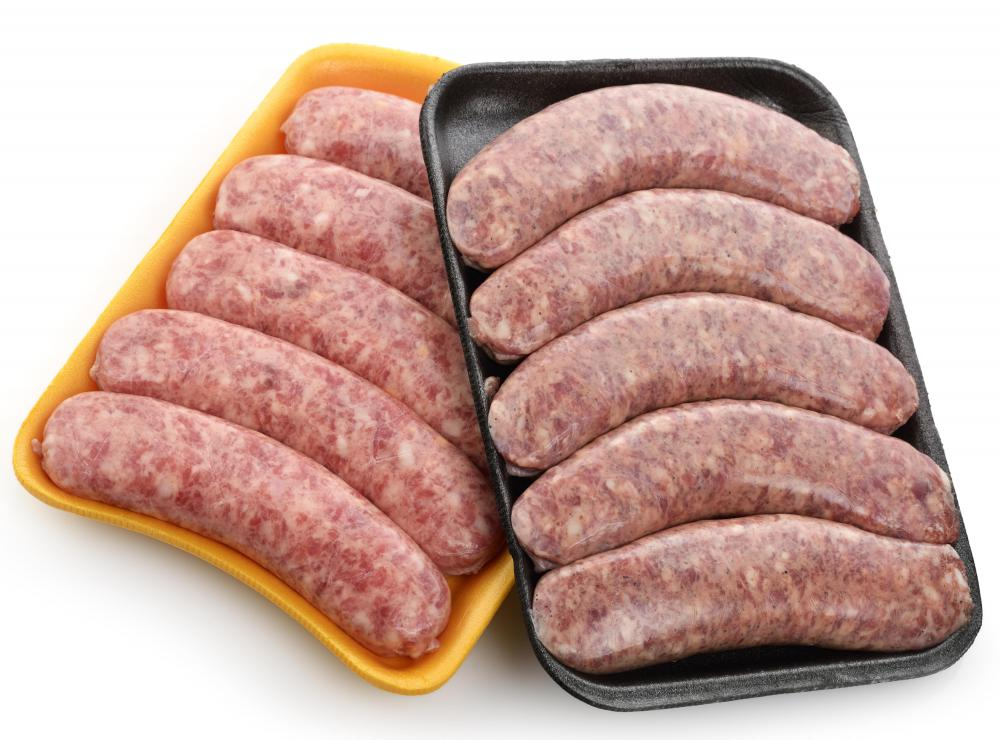 Some varieties of porilainen feature bratwursts as the type of sausage.