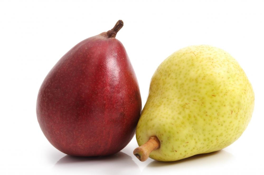 Pears are an example of roughage.