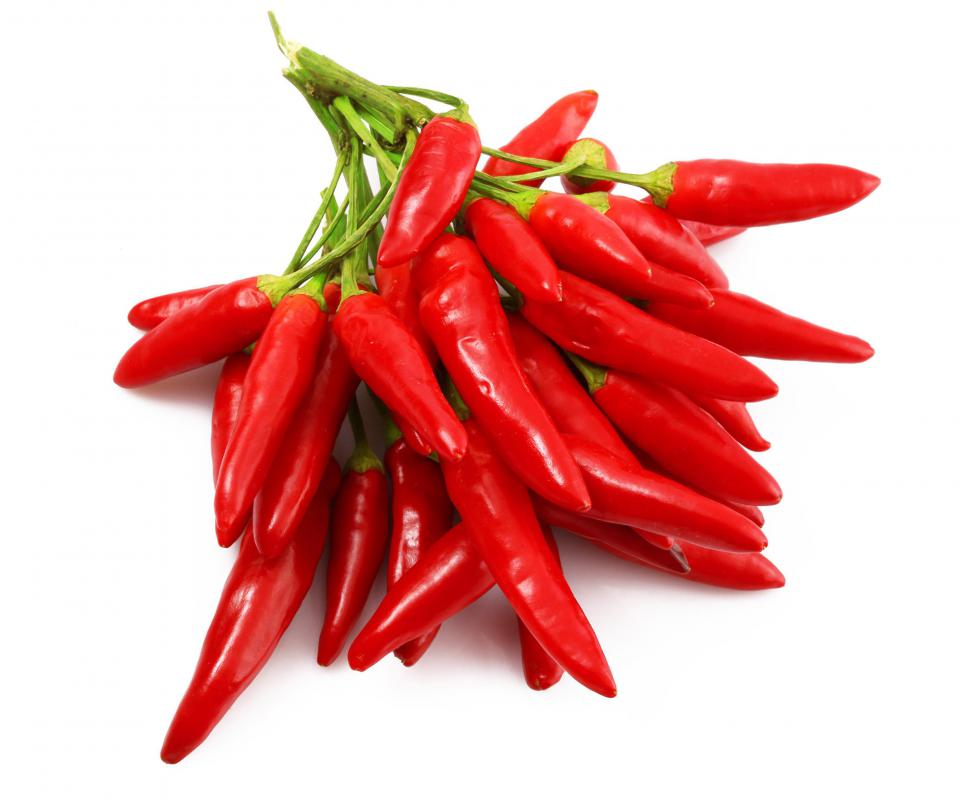 Chili peppers are common in Hunan cuisine.