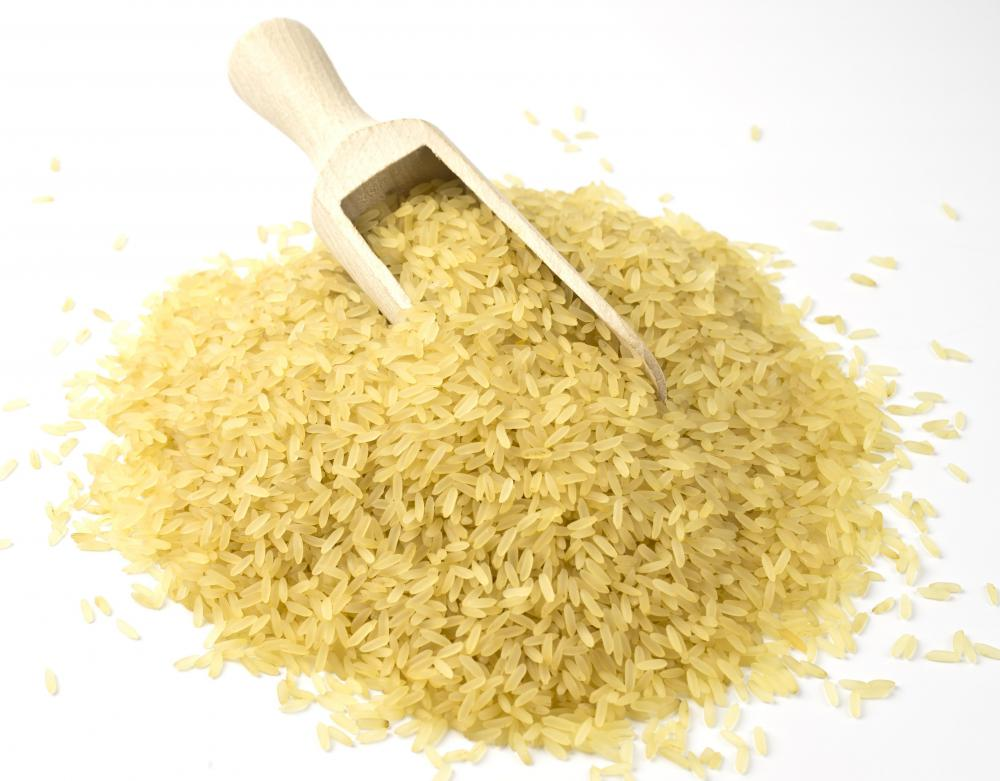 Converted rice has the nutritional benefits of brown rice but the flavor and texture of white rice.
