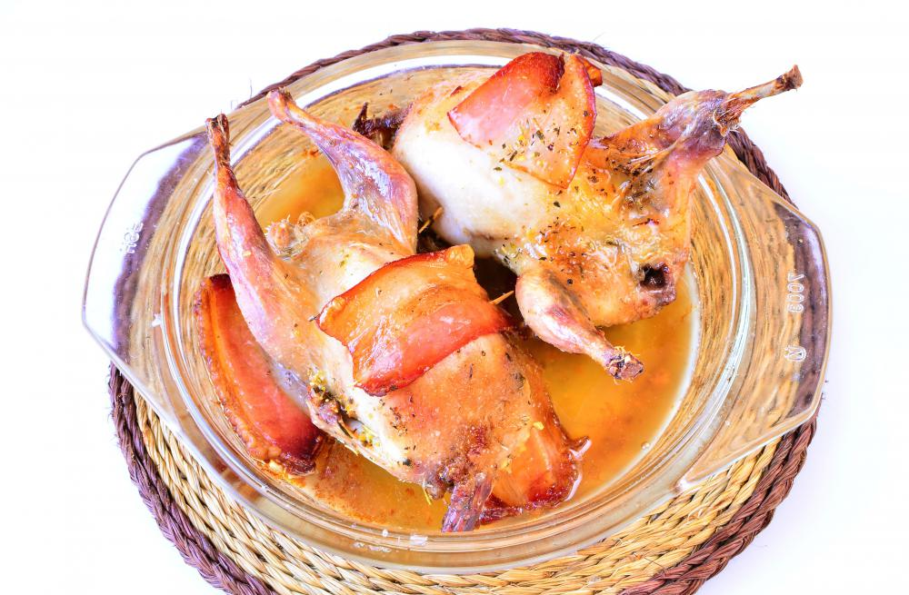 Most cornish game hens are roasted when cooked.