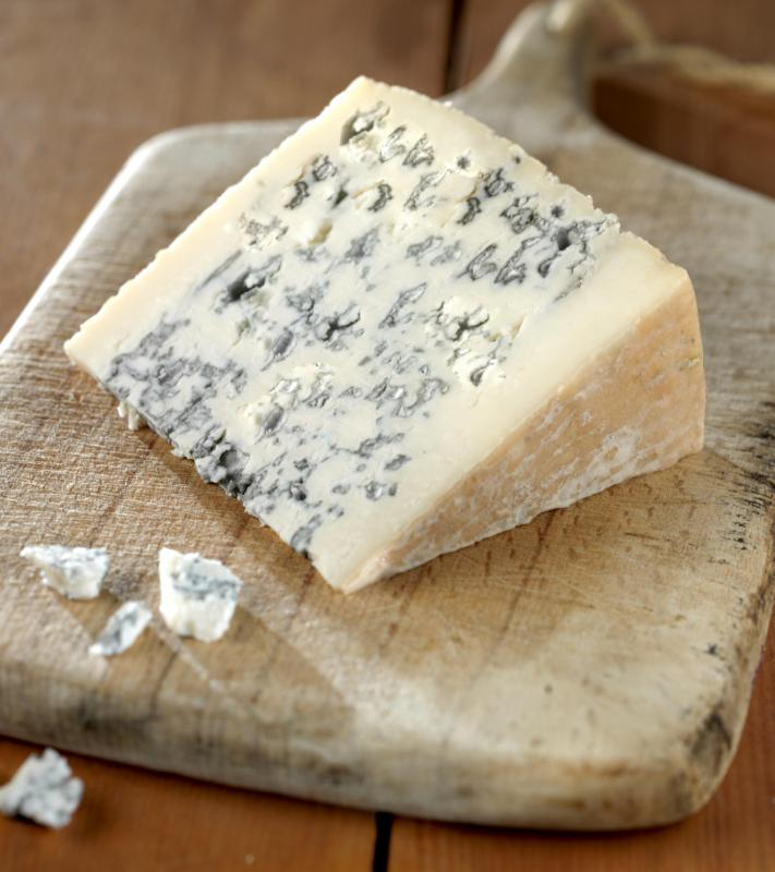 Roquefort is known for its pungent smell and moist, creamy texture.