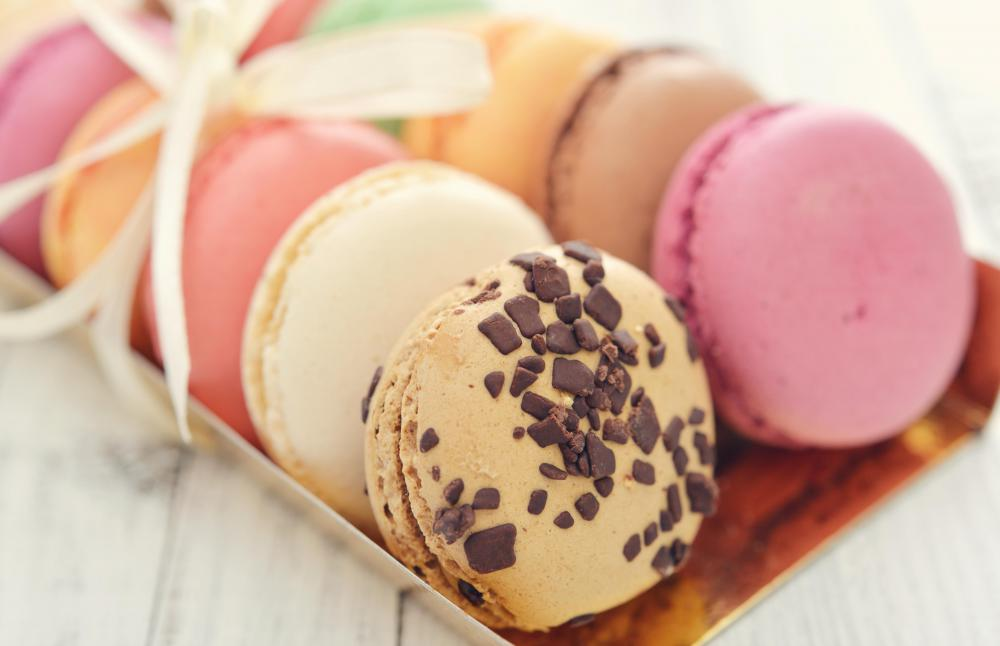 Typical macaroons are made with egg whites.