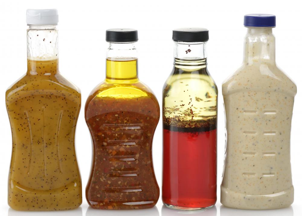 Dextrins are used as thickening agents in commercial dressings and sauces.