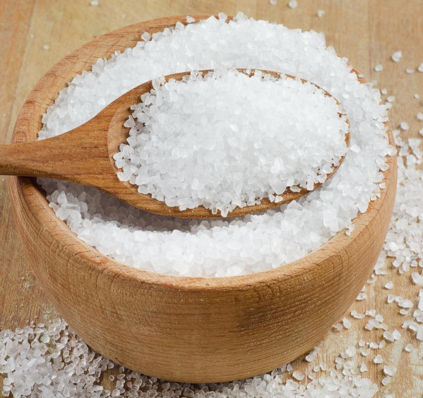 In the U.S., many table salts have added iodine.