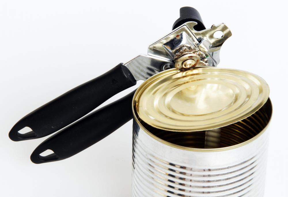 A can opener should be cleaned often to prevent the cross-contamination of food.