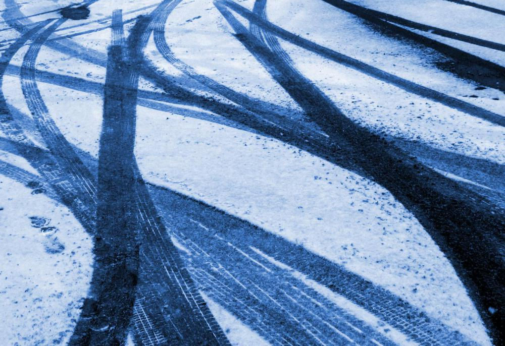Rock salt can help give drivers better traction in icy conditions.