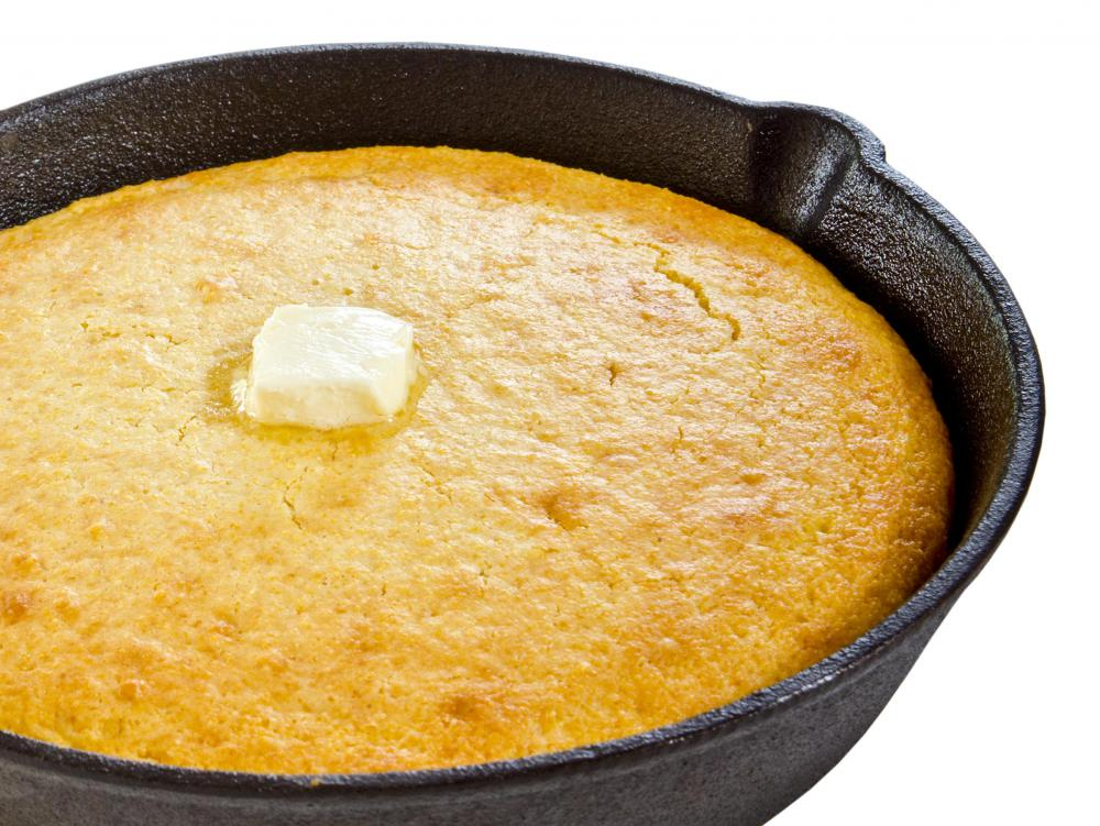 Cornbread is very easy to make in a variety of different ways, such as by skillet.