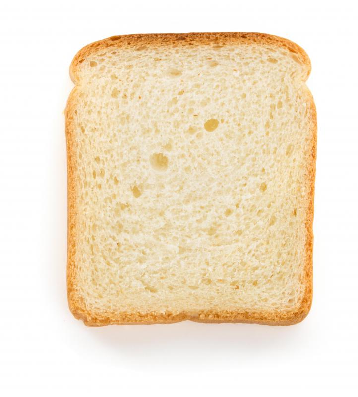 High fructose corn syrup is used in bread.
