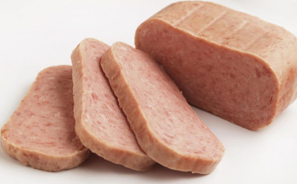 Canned ham is incredibly convenient, especially for people who cannot get fresh groceries very often.