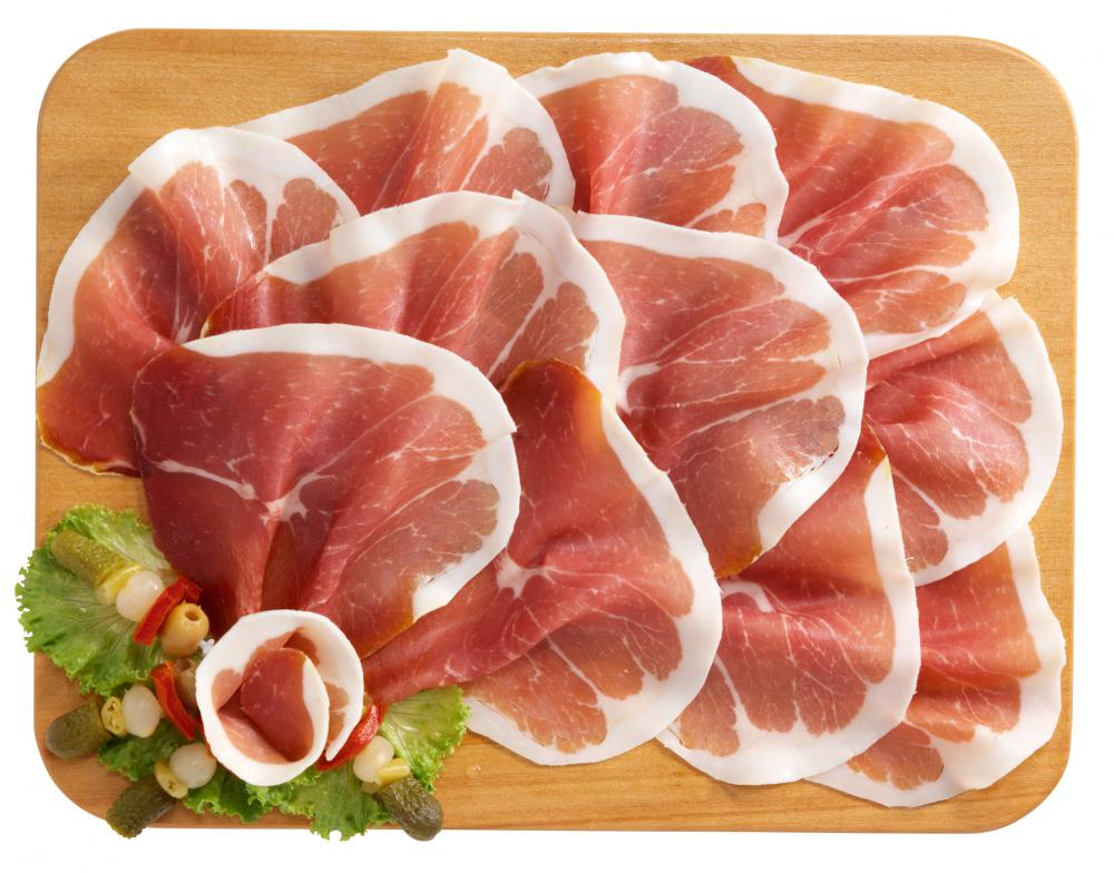 Sliced prosciutto is often used in panini.