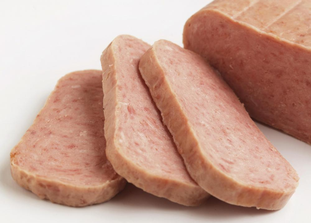 Spam® is similar to potted meat.