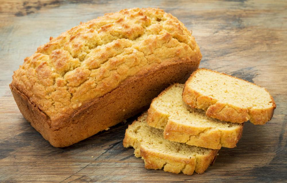 Gluten-free bread is prepared without any wheat or gluten.