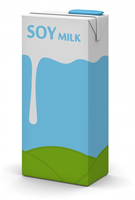 Soy milk is often used as a dairy milk substitute by vegans or individuals who are lactose intolerant.
