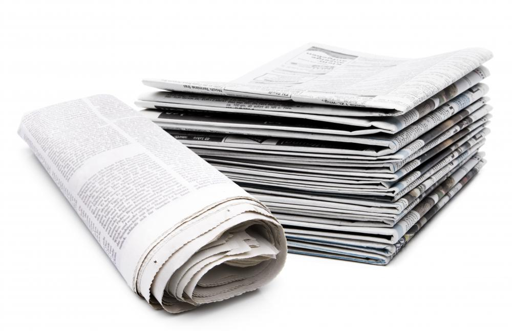 Many newspapers have food columns.