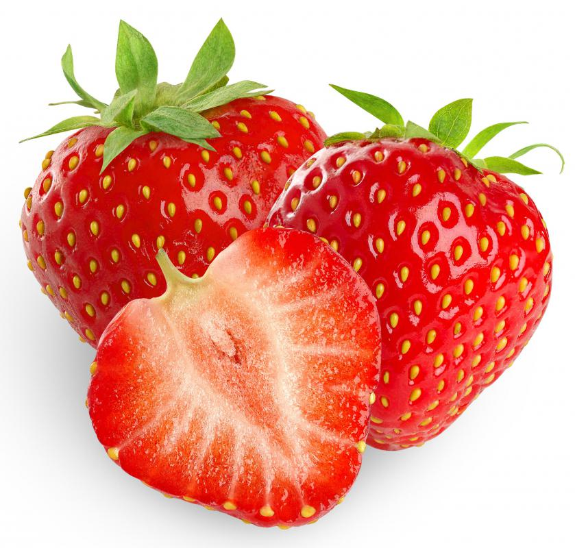 Strawberries, along with many other fruits, are sweet.