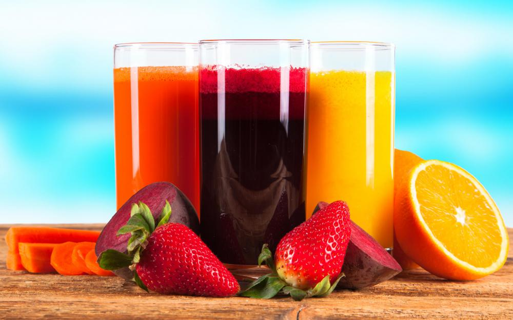 In the U.S., fruit juice is required to contain more actual fruit than a beverage labeled nectar.