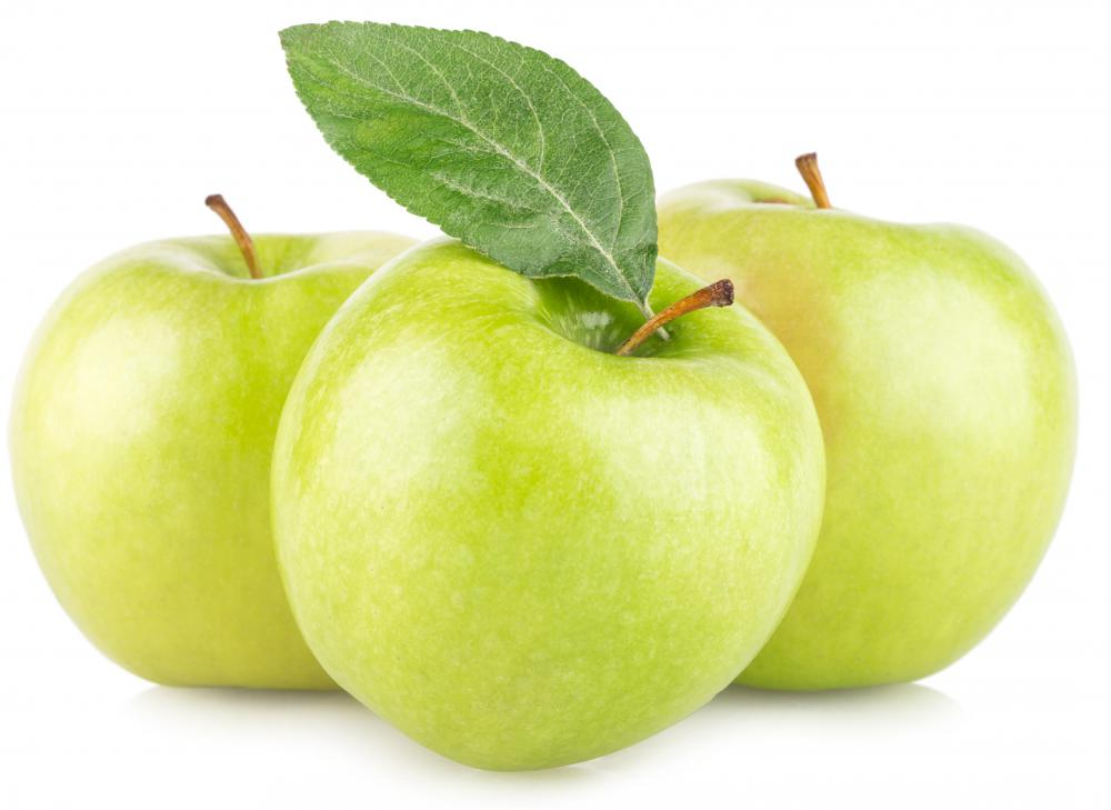 Most varieties of green apples tend to be better for baking.