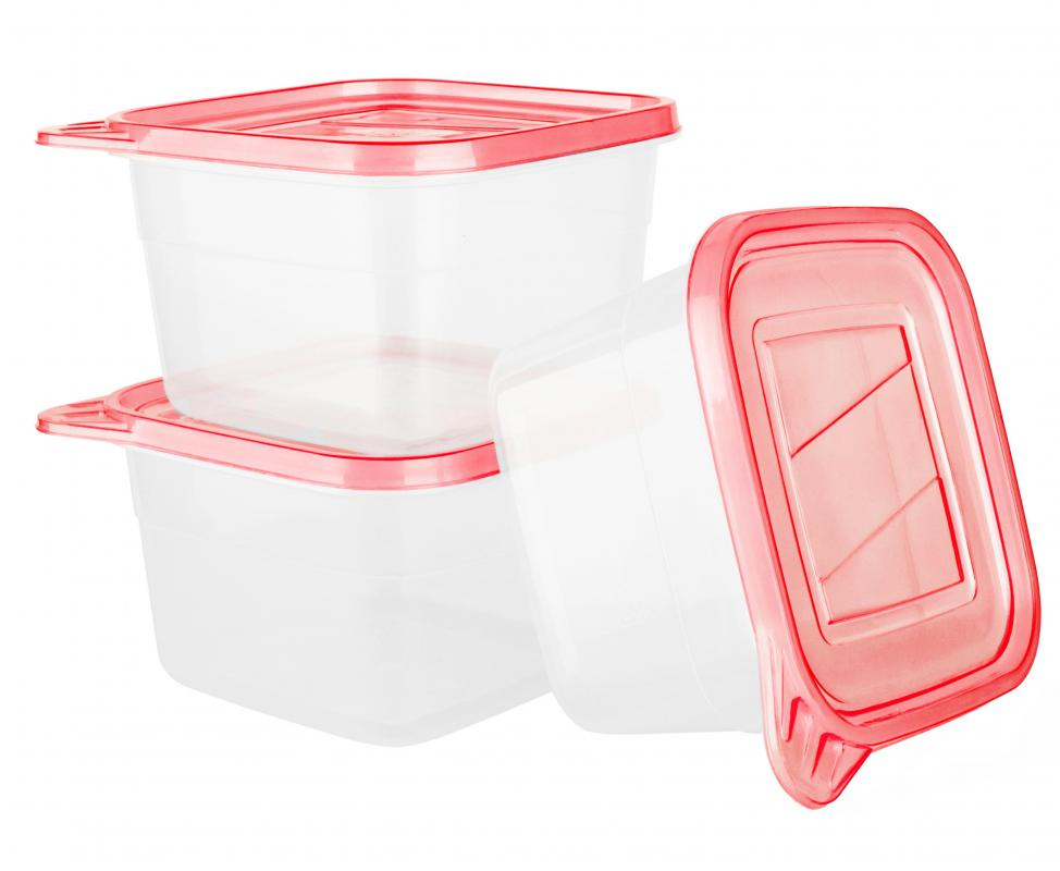 Plastic containers must be stamped with the microwave safe seal before they can be used in microwave.
