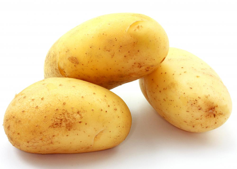 New potatoes, which are sometimes served with raclette cheese.