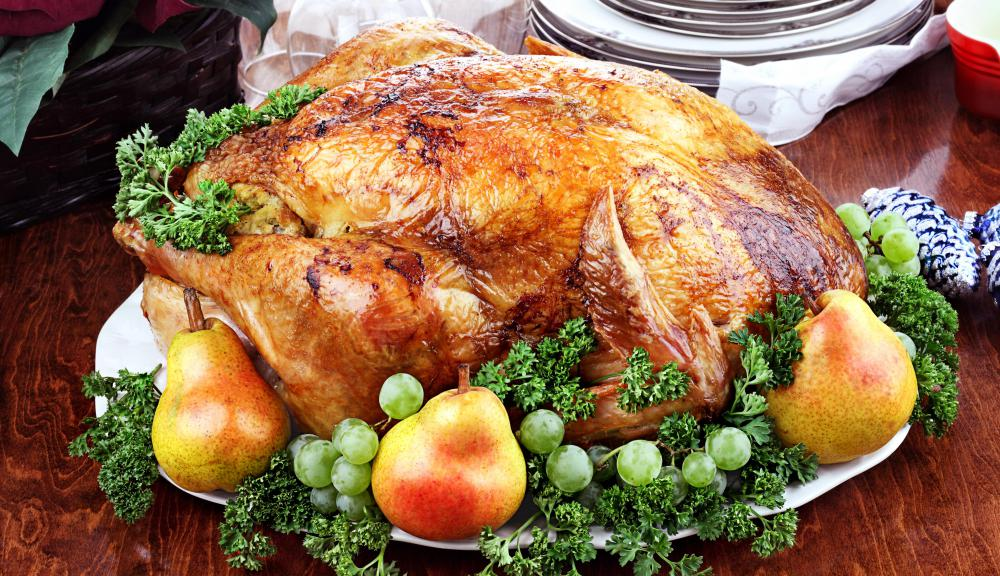 The most common Christmas meat is Turkey.