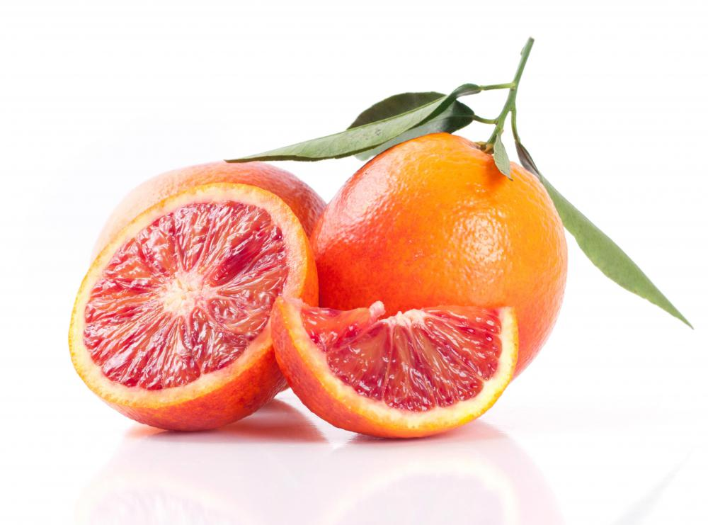 Blood oranges are used in salads, smoothies, and desserts.