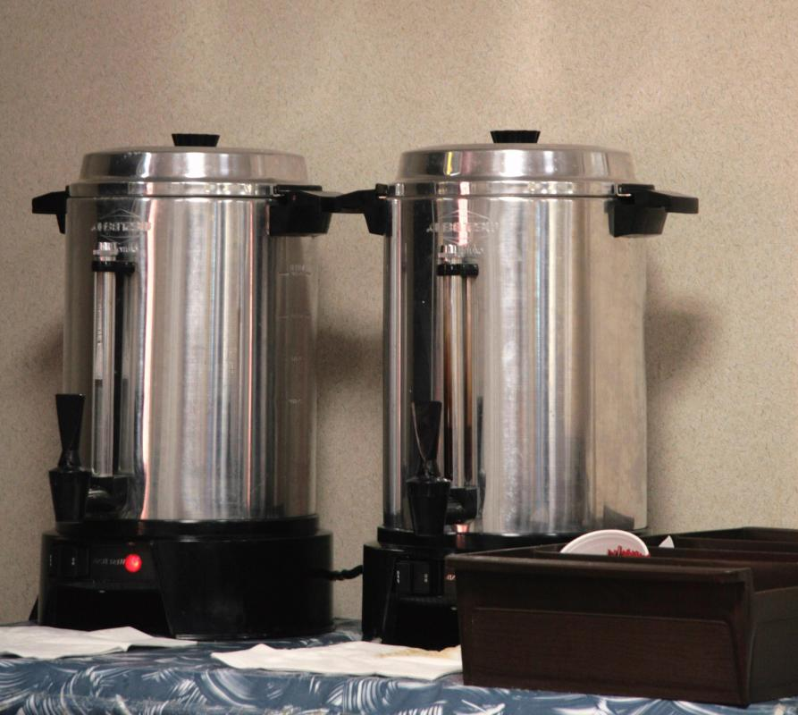 A continental breakfast typically includes coffee.