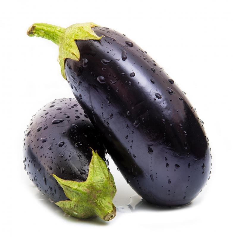 Eggplant can be eaten raw, though it is typically bitter and tastes best when cooked.