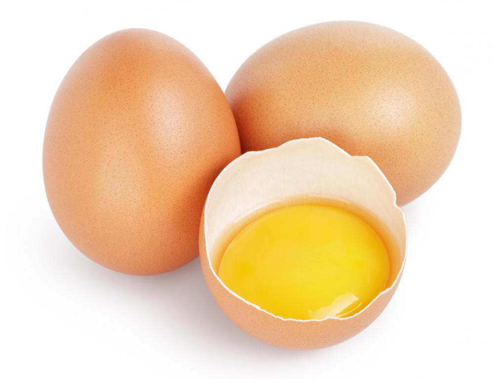 Egg yolks are used to make lane cake.
