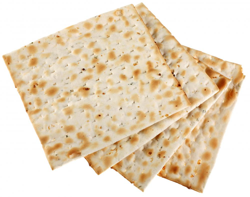 Saltine crackers can be used at the foundation for canapés.